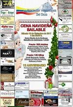 Cea do Nadal 2017 da Asociación Venezolanos del Deza