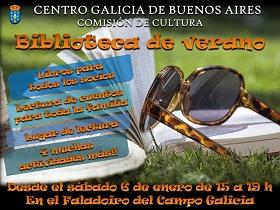 Biblioteca de verán do Centro Galicia de Bos Aires