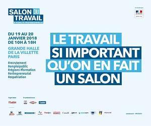 Feira do Traballo e da Mobilidade Profesional - Salon du Travail et de la Mobilité Professionnelle 2018, en París