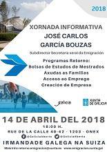 Xornada informativa sobre os programas de axuda ao retorno da Secretaría Xeral da Emigración, en Xenebra