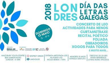 Día das Letras Galegas 2018, en Londres