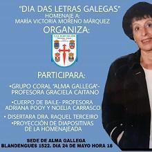 Día das Letras Galegas 2018, no CRC Alma Gallega de Montevideo