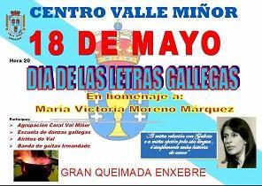 Día das Letras Galegas 2018, no Val Miñor de Montevideo