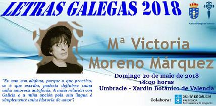 Día das Letras Galegas 2018, en Valencia