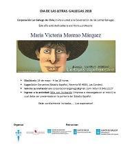 Día das Letras Galegas 2018, en Chile