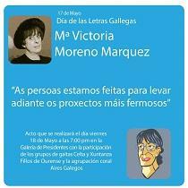 Día das Letras Galegas 2018, en Caracas