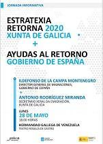 Charla informativa sobre a Estratexia Retorna 2020 da Xunta de Galicia & Axudas ao retorno do Goberno de España, en Caracas