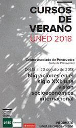 """Curso de verán da UNED """"Migraciones en el siglo XXI: una visión socioeconómica internacional"""", en Pontevedra"""