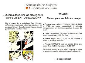 Taller 'Claves para ser feliz en pareja', en Xenebra
