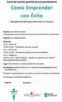 """Curso """"Como emprender con éxito. Management del emprendimiento con success"""", en Santiago de Chile"""