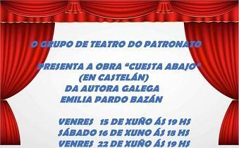 'Cuesta abajo', de Emilia Pardo Bazán, en Montevideo