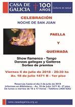 San Xoán 2018 en la Casa Galicia de Montevideo
