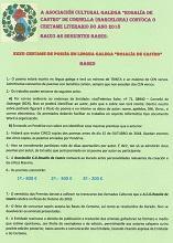"""XXXII Certamen de poesía """"Rosalía de Castro"""" de la A.C.G. Rosalía de Castro de Cornellá 2018"""