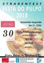 Festa do polbo 2018 do Centro Galego de Nürnberg