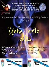 Vº Encuentro Folclórico de hermandades y centros gallegos de Venezuela - Unha noite celta