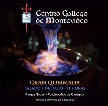 Gran Queimada 2018 do Centro Galego de Montevideo