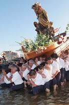 Xantar da Virxe do Carme 2018 en Residentes do Grove en Bos Aires