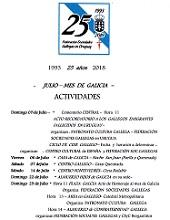 Mes de Galicia 2018, da Federación de Sociedades Gallegas en Uruguay