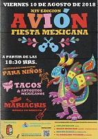 XIV Festa Mexicana de Avión - 2018
