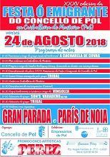 XXXV Festa ao Emigrante 2018, en Pol