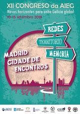 Inauguración do XII Congreso Internacional da Asociación Internacional de Estudos Galegos - AIEG, na Casa de Galicia en Madrid