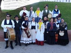 24ª Xuntanza anual do Centro Cultural 'Airiños da Nosa Galicia' de Santa Coloma de Gramenet, en Verín