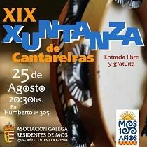 XIXª Xuntanza de Cantareiras da Asociación Galega Residentes de Mos en Bos Aires