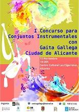 """Iº Concurso para conjuntos instrumentales con gaita gallega """"Ciudad de Alicante"""""""