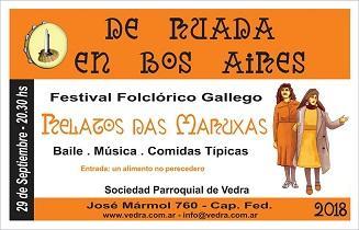 """""""De Ruada en Bos Aires 2018 - Relatos das Maruxas"""", na Sociedad Parroquial de Vedra de Bos Aires"""