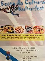 Festa da Cultura - Kulturfest 2018 do Club Galicia de Bonn