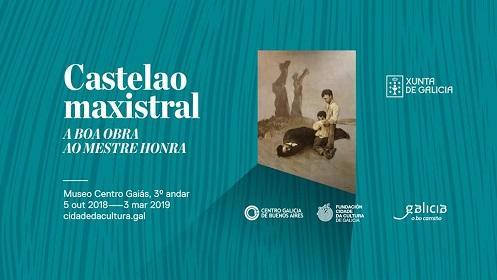 """Exposición """"Castelao maxistral. A boa obra ao mestre honra"""", na Cidade da Cultura de Galicia"""