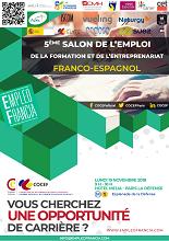 Vº Salón Franco-Español do Emprego, Formación e o Emprendemento 2018, en París