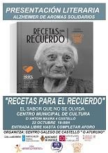Presentación do libro 'Recetas para el Recuerdo', en Castelló