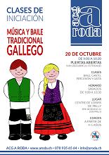 Xornada de portas abertas - Clases de iniciación de música e baile tradicional galegos, en Lausanne
