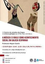 Conferencia 'A música e o baile como acontecemento social en Galicia', na Universidade Federal da Bahia