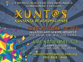 """Xuntanza de agrupacións """"Xunt@s"""", no Centro Galicia de Bos Aires"""