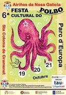 Festa cultural do Polbo 2018 do Centro Cultural 'Airiños da Nosa Galicia' de Santa Coloma de Gramenet