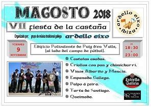 Magosto 2018 en Eivissa