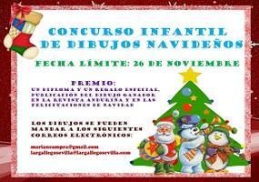 Concurso infantil de debuxos do Nadal 2018 do Lar Galego de Sevilla