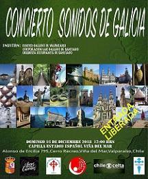 """Concerto """"Sonidos de Galicia"""", en Viña del Mar"""