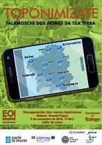 Conferencia sobre a toponimia galega, na EOI Jesús Maestro de Madrid