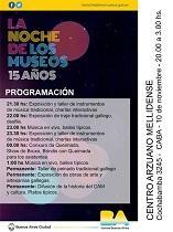 La Noche de los Museos 2018, no Centro Arzuano Melidense de Bos Aires