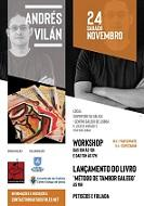 """Workshop e presentación do libro """"Método de tambor galego"""", en Lisboa"""