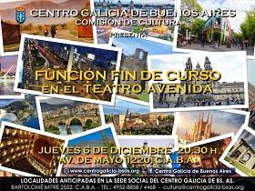 Función Fin de Curso 2018 do Centro Galicia de Bos Aires