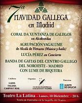 VIIª Navidad Gallega en Madrid