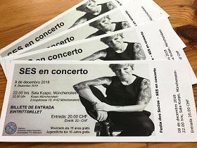 Festa dos/as socios/as 2018 da Sociedade Galega Sementeira - Concerto de SES, en Basilea