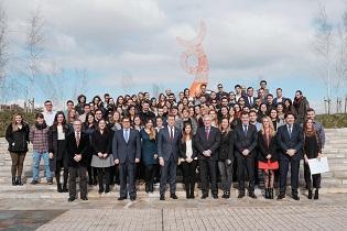 Entrega de diplomas acreditativos da concesión das Bolsas Excelencia Mocidade Exterior 2018-2019