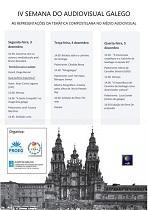 IVª Semana do Audiovisual Galego 2018 - 'As representacións da temática compostelana no medio audiovisual', en Río de Xaneiro