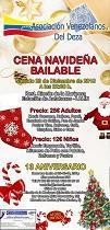 Cea do Nadal 2018 da Asociación Venezolanos del Deza