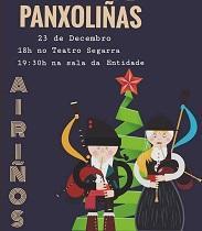 Recital de panxoliñas de 'Airiños da Nosa Galicia' de  Santa Coloma